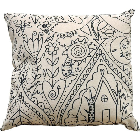 Imaginations Pillow