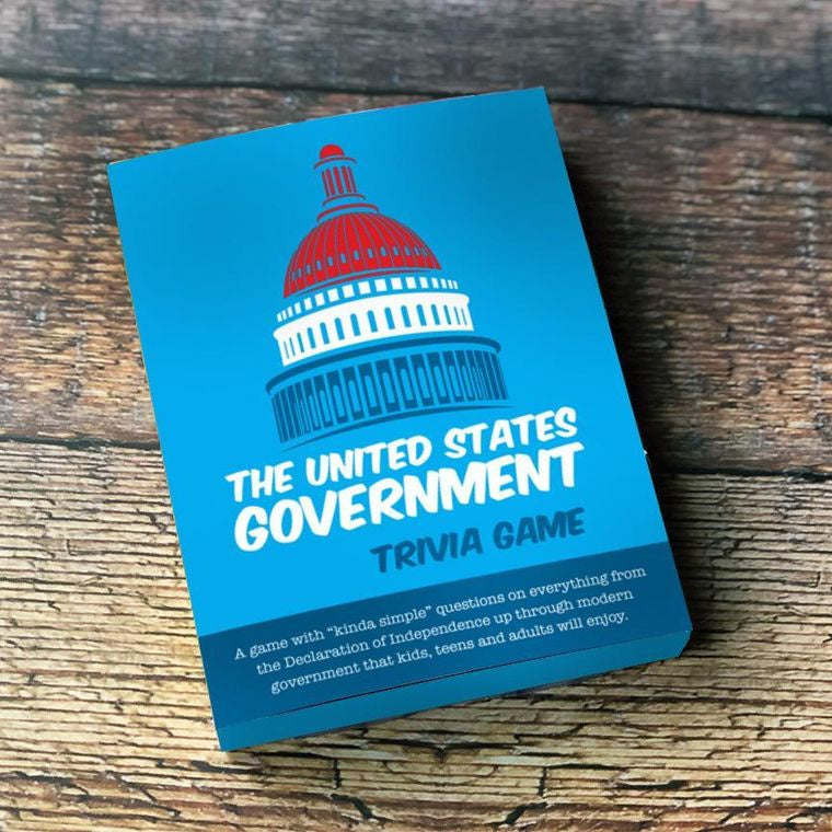Trivia Card Deck:  The US Government