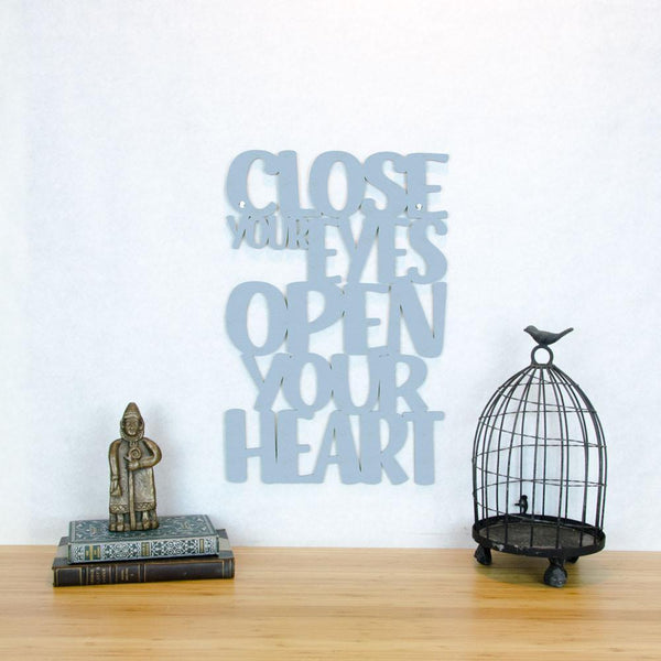 Close Your Eyes-Wall Art