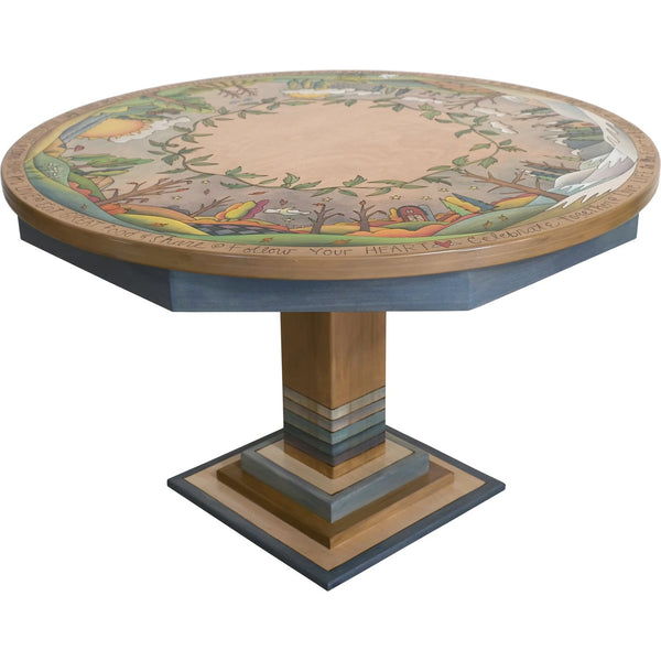 "Dining Table-48"" Round-Four Seasons"
