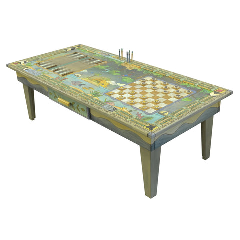 Game Coffee Table-Jungle vs. Ocean