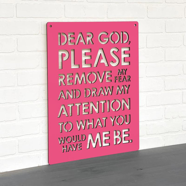 Please Remove My Fears-Wall Art