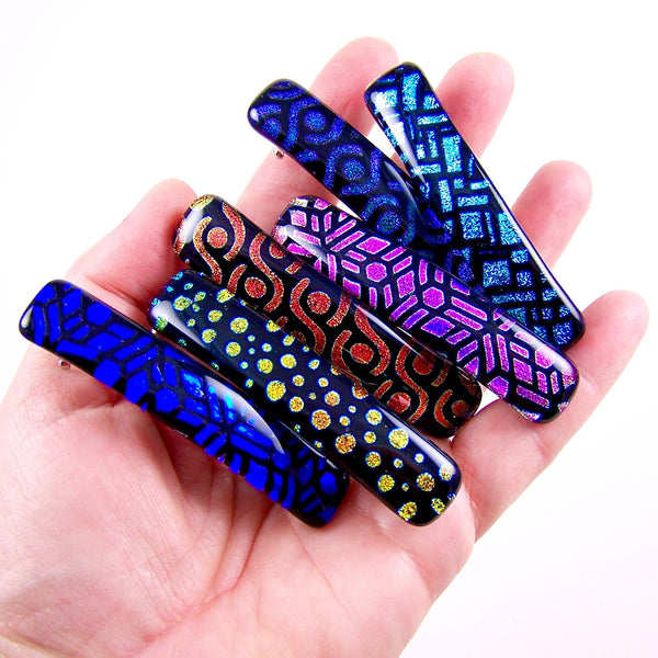 Dichroic FX Pattern Barrette-Small