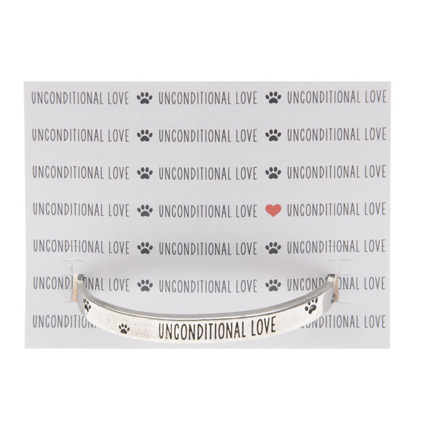 Cuff Bracelet-Unconditional Love
