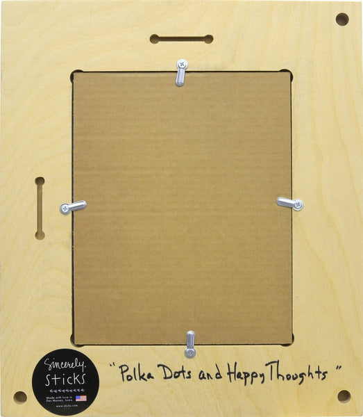 Picture Frame-Polka Dots & Happy Thoughts