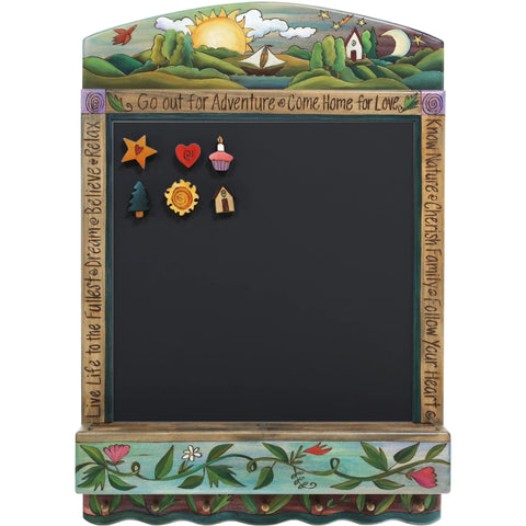 Chalkboard Info Center-Adventure