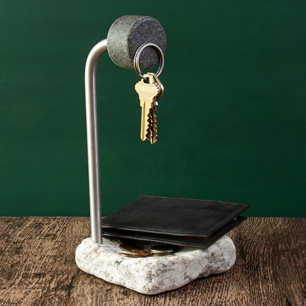 Granite Tabletop Key Holder & Valet