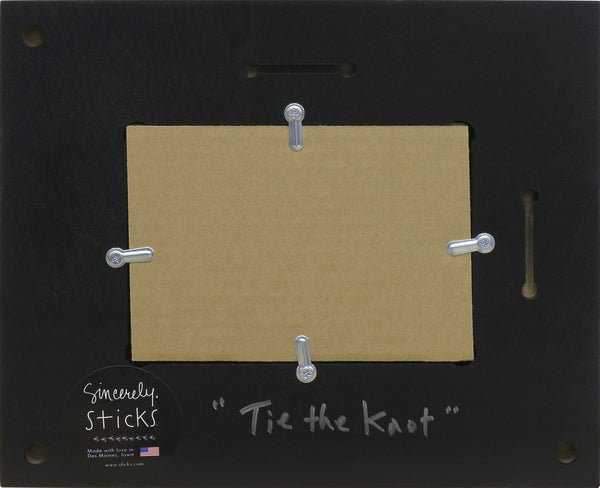 Picture Frame-Tie the Knot