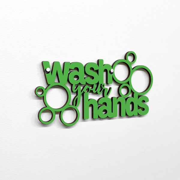 Wash Your Hands - Mini Wall Art