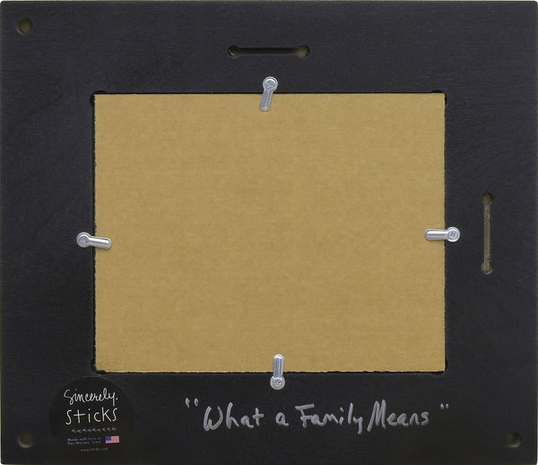 Picture Frame-What a Family Means