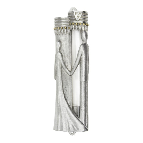 Bride & Groom Mezuzah
