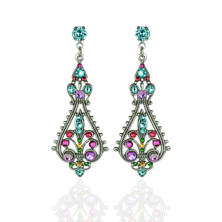 Pastel Filigree Earrings