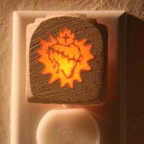 Glow Nightlight-Sacred Heart