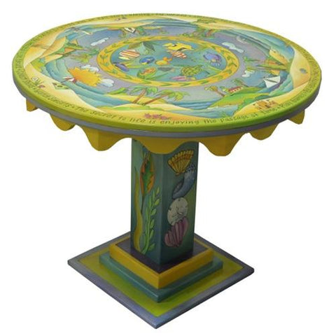 "Dining Table-36"" Round-Tropical"