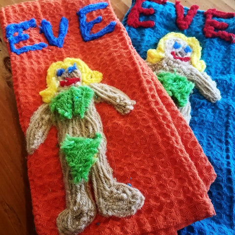 Kitchen Towel-Eve