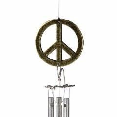 Little Piper Chime-Peace Sign | Jacob's Musical Chimes | Random Acts of Art | Naples Florida
