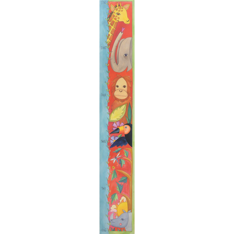Growth Chart-Animal Friends