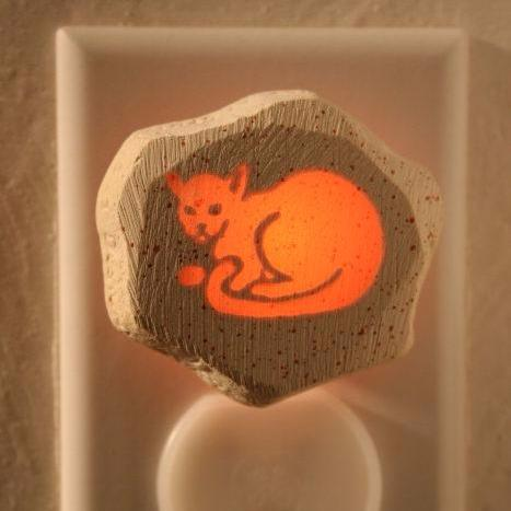 Glow Nightlight-Cat