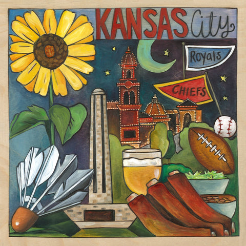 Kansas City Plaque-City of Fountains