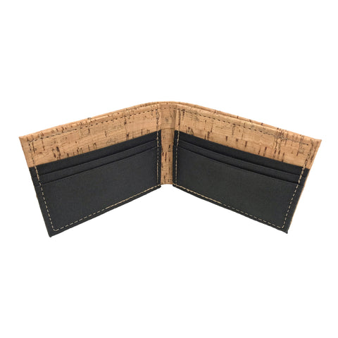 Bifold Wallet- Cork