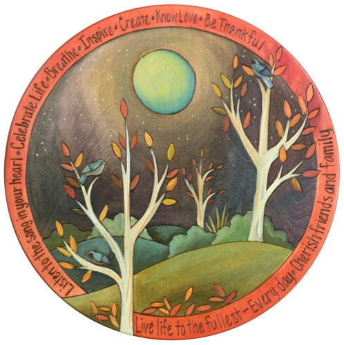"Sticks Lazy Susan 20""-Autumn Moon"