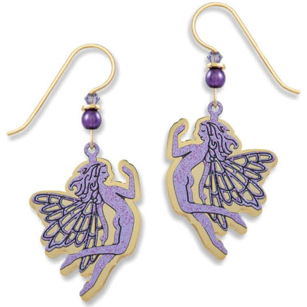 Fairy Earrings-Purple