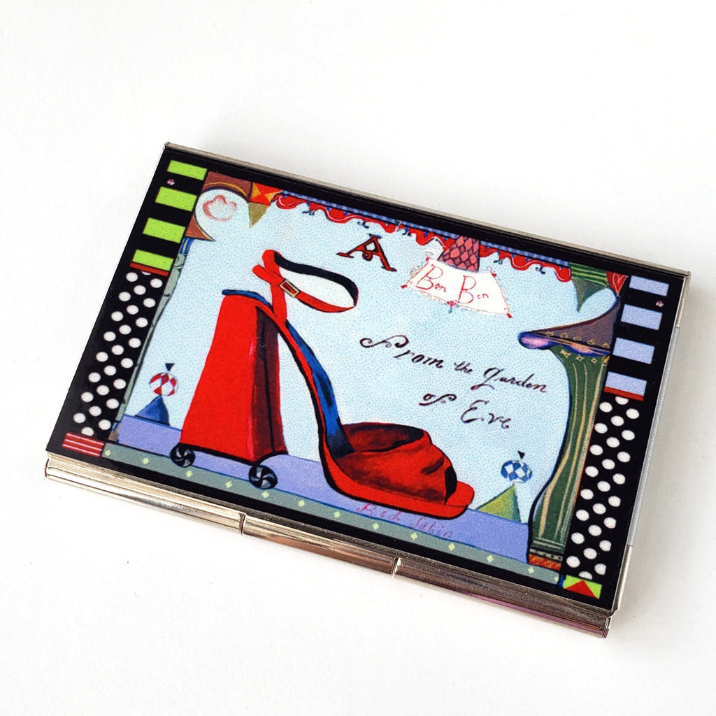 Business Card Case-Eve Shoe