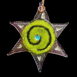 Energy Star Ornament-Lime