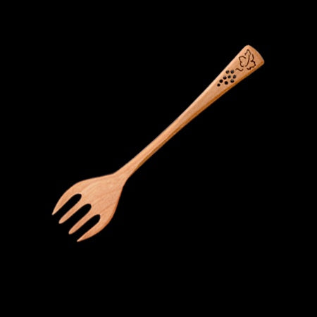"Serving Fork 6""-Grape"