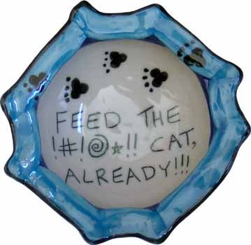 Feed the Cat Bowl