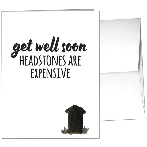 Card-Get Well Headstone