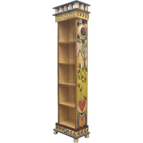 Tall Bookcase-Reading Takes You