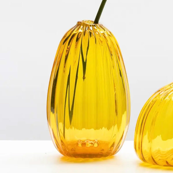 Little Buddies Glass Vases-Gold