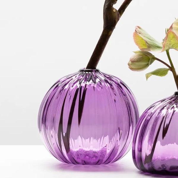 Little Buddies Glass Vases-Hyacinth
