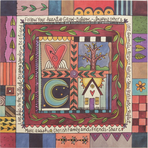 Quilter's Dream Wall Canvas