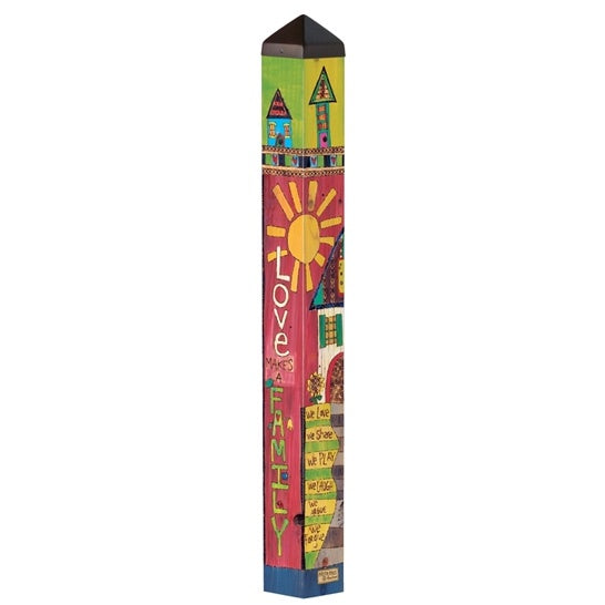 "Art Pole 40""-Family Home"