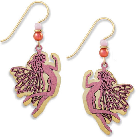 Fairy Earrings-Pink