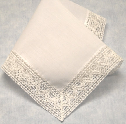 Chapel Lace Baby Bonnet