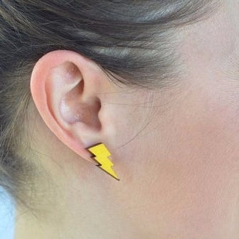 Cloud & Lightening Earrings