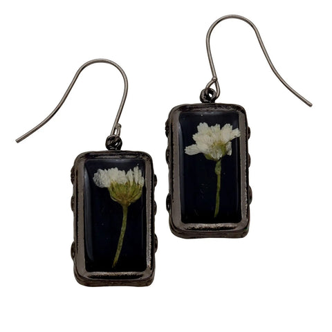 Achillea Earrings-Rectangle