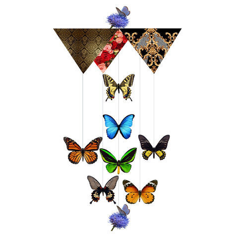 Card Mobile-Butterfly Forest