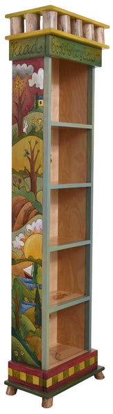 Tall Bookcase-Four Seasons