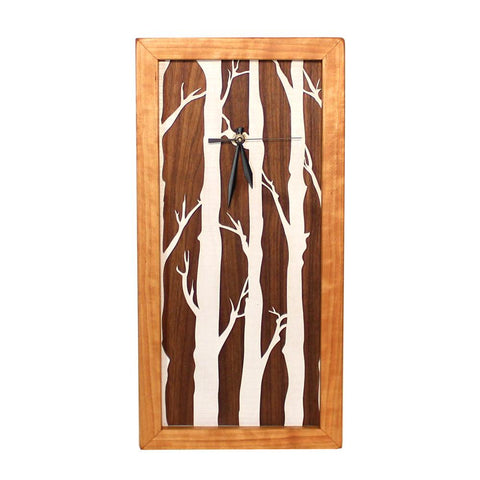 Tall Box Clock-Birches