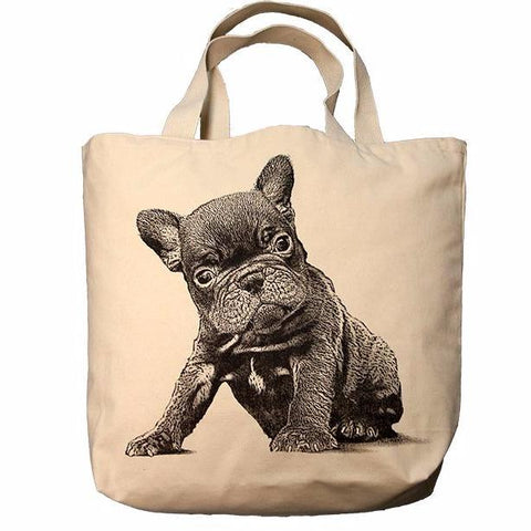 French Bulldog Puppy Tote Bag