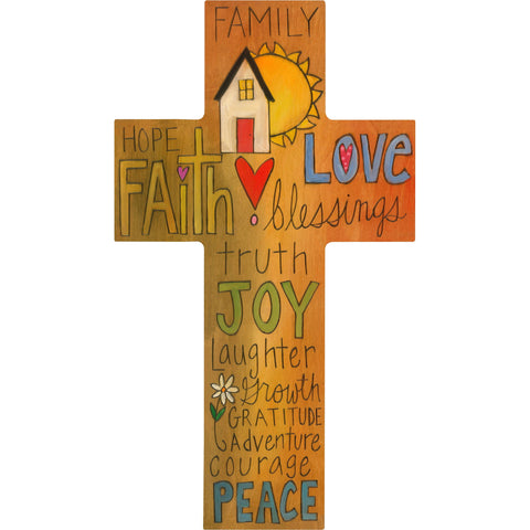 Cross Plaque-Joy of Family