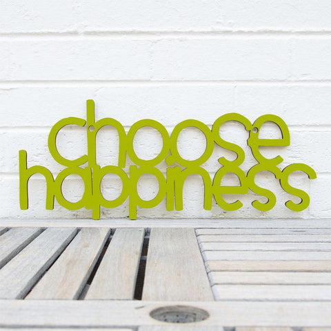 Choose Happiness-Wall Art