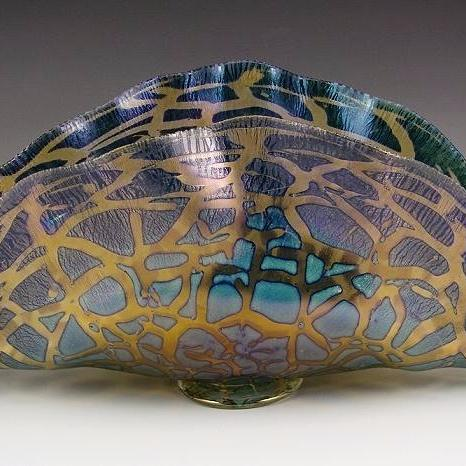 Clamshell Glass Vessel