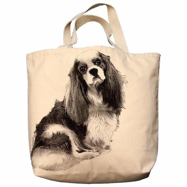 King Charles Cavalier Tote Bag