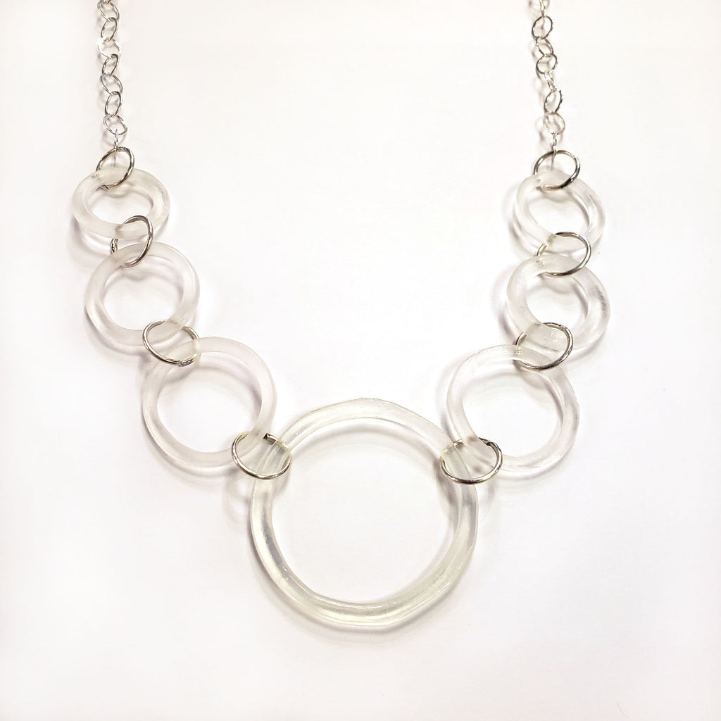 Lucky 7 Necklace-Clear