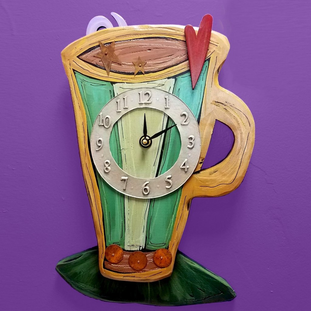 Coffee Cup Clock